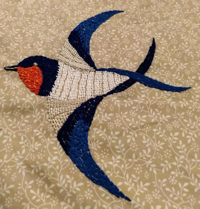 Swallow representing hope